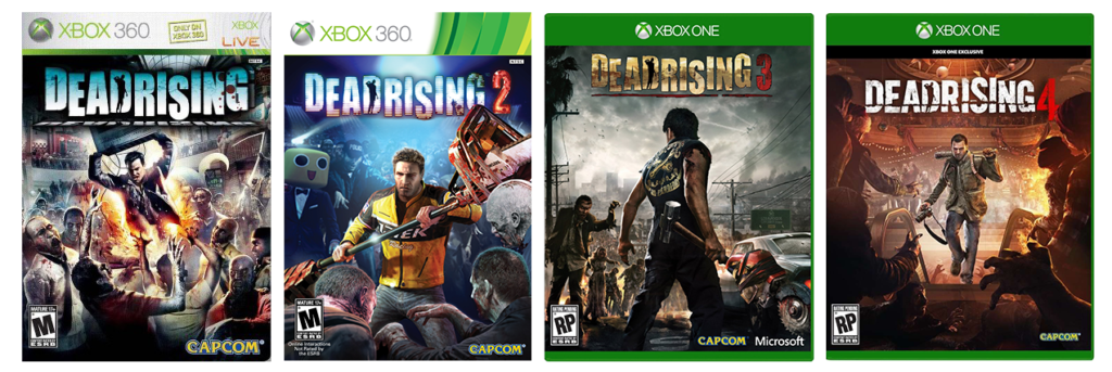 GeekOWT Dead Rising Main Series