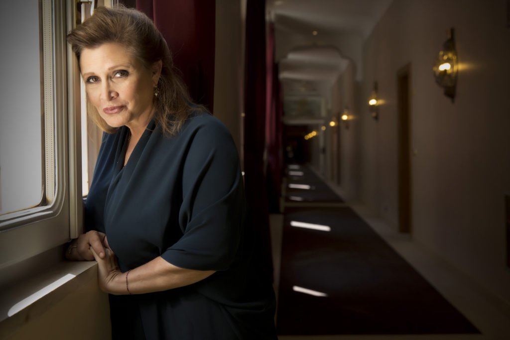 GeekOWT - Carrie Fisher 2015