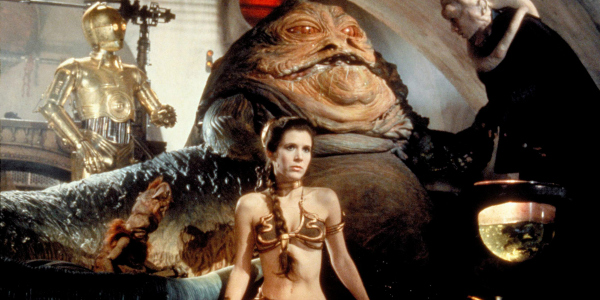 GeekOWT Carrie Fisher Jabba The Hutt