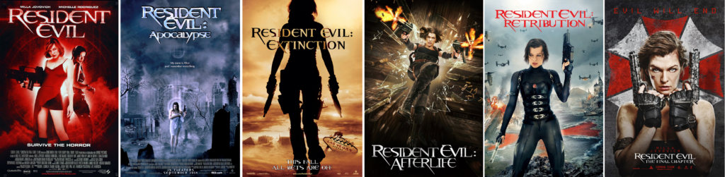 A Brief History Of Evil Resident Evil Geekowt
